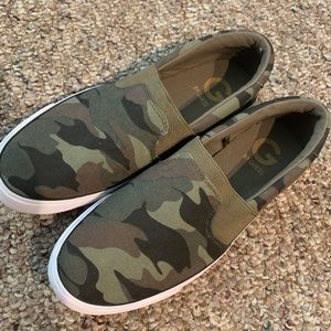 Guess Camo Print Shoes